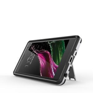 Outdoor odolný kryt pre mobil LG Zero - strieborny - 3