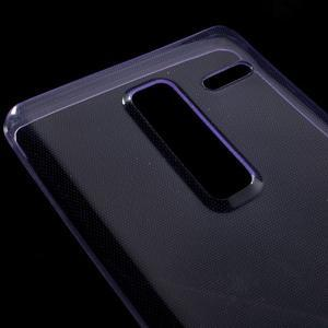 Ultratenký slim gelový obal na LG Zero - fialový - 3