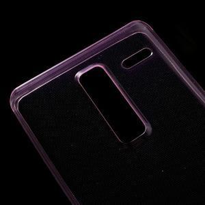 Ultratenký slim gelový obal na LG Zero - rose - 3