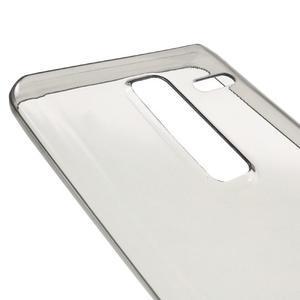 Ultratenký slim gelový obal na LG Zero - šedý - 3