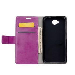 Fold peňaženkové puzdro na Microsofst Lumia 650 - fialové - 3