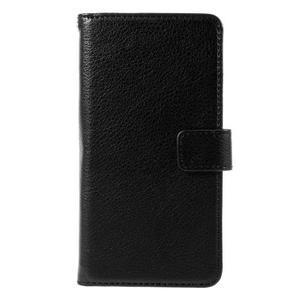 Funny peňaženkové puzdro na mobil Microsoft Lumia 650 - čierné - 3