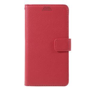Funny peňaženkové puzdro na mobil Microsoft Lumia 650 - červené - 3