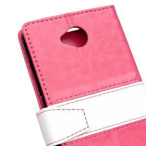 Flag peněnžekové puzdro pre Microsoft Lumia 650 - rose - 3