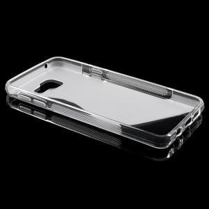 S-line gélové obal na mobil Samsung Galaxy A3 (2016) - transparentný - 3