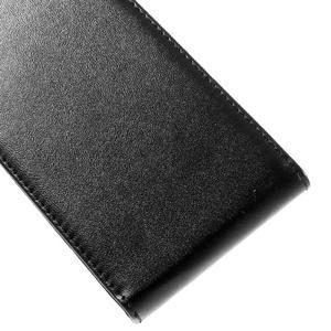 Flipové puzdro na mobil Microsoft Lumia 650 - čierné - 3