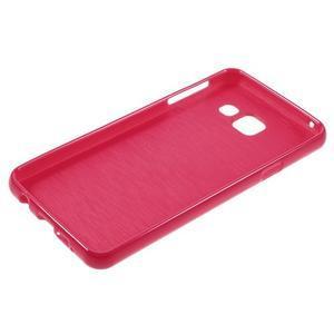 Gélový obal pre mobil Samsung Galaxy A3 (2016) - červený - 3