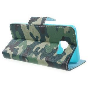 Peňaženkové puzdro pre mobil Samsung Galaxy A3 (2016) - kamufláž - 3