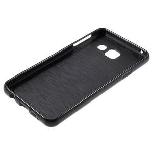 Gélový obal pre mobil Samsung Galaxy A3 (2016) - čierný - 3