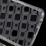 Square gélový obal na mobil Samsung Galaxy A3 (2016) - transparentný - 3/5