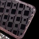 Square gélový obal pre mobil Samsung Galaxy A3 (2016) - ružový - 3/5