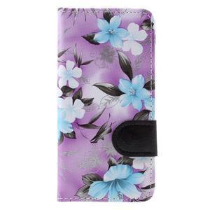 puzdro na mobil Samsung Galaxy A3 (2016) - fialové pozadí - 3