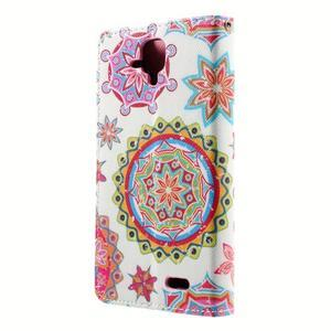 Peňaženkové puzdro na mobil Lenovo A536 - mandala - 3