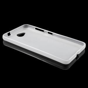 Matný gélový obal na Microsft Lumia 650 - transparentný - 3