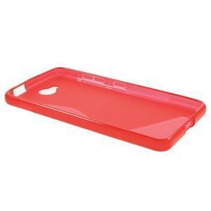 S-line gélový obal na mobil Microsoft Lumia 650 - červený - 3