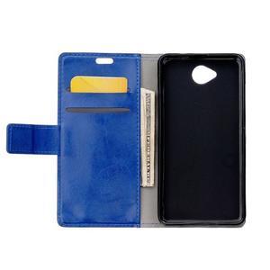 Fold peňaženkové puzdro na Microsofst Lumia 650 - modré - 3