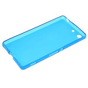 Matný gélový kryt pre Sony Xperia M5 - modrý - 3