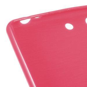 Lesklý gélový obal pre mobil Sony Xperia M5 - rose - 3