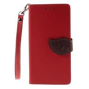Blade Peňaženkové puzdro pre Sony Xperia M5 - červené - 3