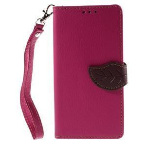 Blade Peňaženkové puzdro pre Sony Xperia M5 - rose - 3