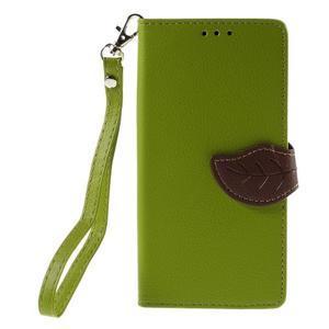 Blade Peňaženkové puzdro pre Sony Xperia M5 - zelené - 3
