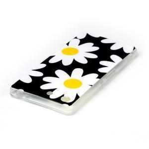 Style gélový obal pre Sony Xperia M5 - daisy - 3