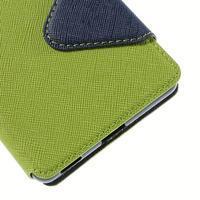 Diary pouzdro s okýnkem na Sony Xperia M5 - zelené - 3/7