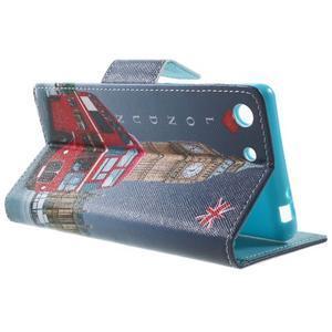 Stand Peňaženkové puzdro pre Sony Xperia M5 - Big Ben - 3
