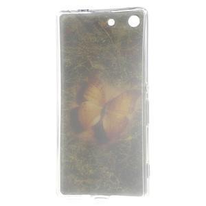 Gélový obal pre mobil Sony Xperia M5 - motýľ - 3