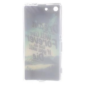 Gélový obal pre mobil Sony Xperia M5 - dream - 3