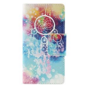 Crafty peněženkové pouzdro na Sony Xperia M5 - lapač snů - 3