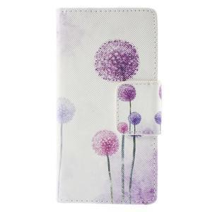 Crafty Peňaženkové puzdro pre Sony Xperia M5 - púpava - 3