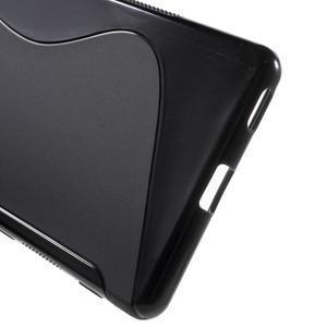 S-line gelový obal na mobil Sony Xperia M5 - černé - 3