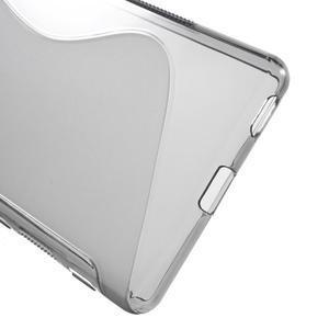 S-line gelový obal na mobil Sony Xperia M5 - šedé - 3