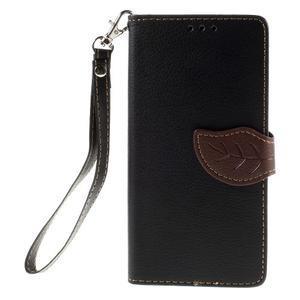 Blade Peňaženkové puzdro pre Sony Xperia M5 - čierne - 3