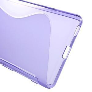 S-line gélový obal pre mobil Sony Xperia M5 - fialové - 3