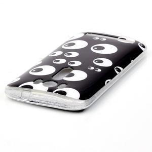Softy gelový obal na mobil Asus Zenfone 2 Laser - očička - 3