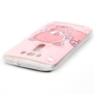 Softy gelový obal na mobil Asus Zenfone 2 Laser - medvídek - 3