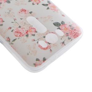 Softy gelový obal na mobil Asus Zenfone 2 Laser - květinová koláž - 3