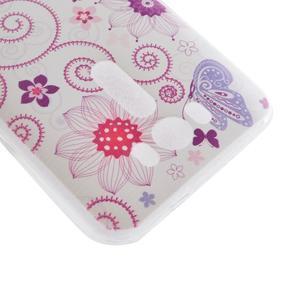 Softy gélový obal pre mobil Asus Zenfone 2 Laser - motýľek - 3
