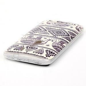 Softy gélový obal pre mobil Asus Zenfone 2 Laser - sloni - 3