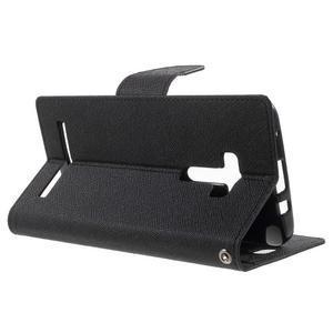 Mr. Goos peňaženkové puzdro pre Asus Zenfone Selfie ZD551KL - čierné - 3