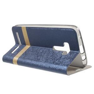 Lines puzdro pre mobil Asus Zenfone Selfie ZD551KL - tmavo modré - 3