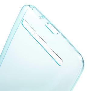 Ultratenký slim obal 0.6 mm na Asus Zenfone Selfie - světlemodrý - 3