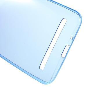 Ultratenký slim obal 0.6 mm pre Asus Zenfone Selfie - tmavomodrý - 3