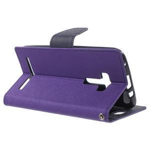 Mr. Goos peňaženkové puzdro na Asus Zenfone Selfie ZD551KL - fialové - 3
