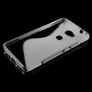 S-line gélový obal pre mobil Honor 5X - šedý - 3