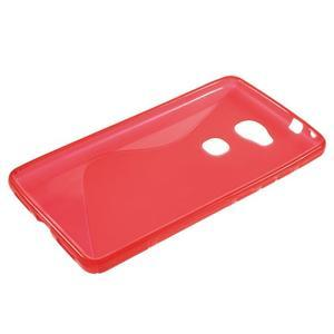 S-line gélový obal pre mobil Honor 5X - červený - 3