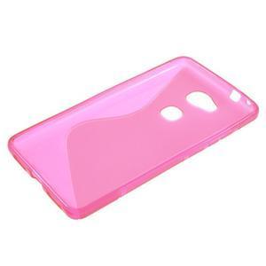 S-line gelový obal na mobil Honor 5X - rose - 3