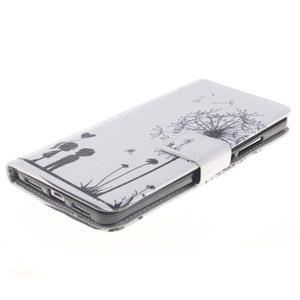 Peňaženkové puzdro pro mobil Honor 5X - láska - 3